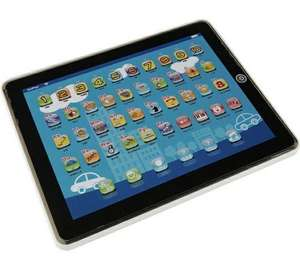 Chad Valley Junior Touch Tablet 1/2 PRICE £4.99 WAS £9.99 ARGOS (FREE C+C)
