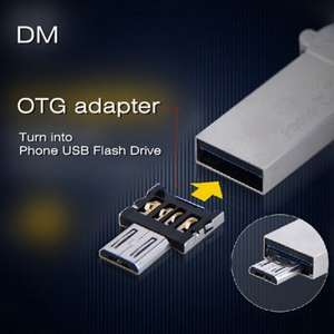 DM USB to Micro USB Male OTG Adapter 8p Delivered (with code) @ Gearbest