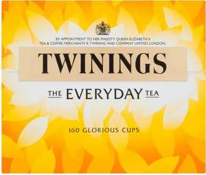 Twinings Everyday Tea Bags (160) Only £3.49 @ Poundstretcher
