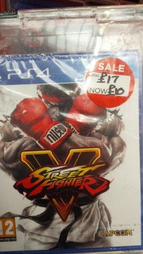 Street Fighter V PS4 £10 instore Asda