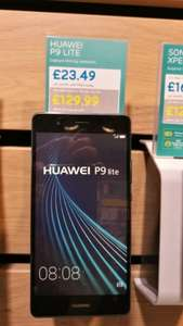 Huawei p9 lite @ EE shop instore Slough for £129.99 + £10 top-up