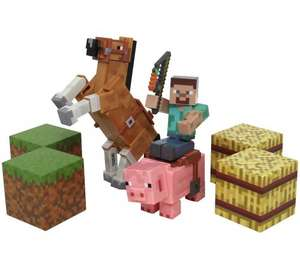Minecraft saddle pack Argos better than half price was £29.99 now £11.99