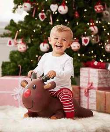 Hop Along Reindeer - Half Price @ £10 at ELC
