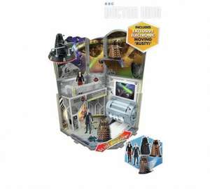 Doctor Who Value Set Which Also Includes 3 Daleks- 1 Moves, Black Hovabout Vehicle, Doctor & Clara Figure - All For £7.91 at Argos