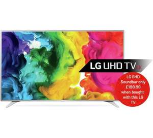 LG 55 Inch 4k TV £539.10 with code TVS10 @ Argos