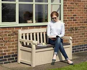 Keter Eden Garden Storage Bench 265L £54 Delivered @ Amazon.co.uk