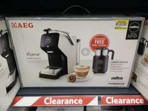 AEG Lavazza Amoda Mio coffee machine £25.90 instore @ Tesco