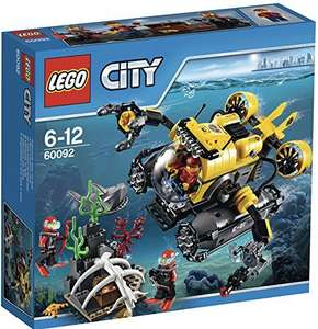 LEGO 60092 City Explorers Deep Sea Submarine at Amazon @ £14.48 (+£4.97 delivery non prime or free del over £20)