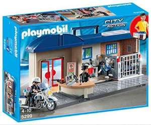 Playmobil Take Along Police Station 5299 @ Amazon £15.00 rrp £24.99 (Prime Exclusive)