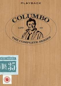 Columbo The Complete 10 Season Collection DVD £19.99 Amazon Free delivery over £20