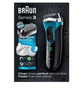 Amazon UK - Braun Series 3 3080 Men's Electric Foil Shaver £39.99