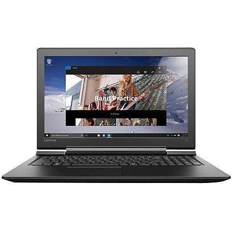 """Lenovo Ideapad 700 Laptop, Intel Core i5, 12GB RAM, 1TB HDD + 128GB SSD, 15.6"""" Full HD, Black John Lewis"""