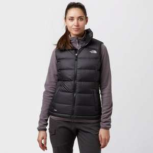 Black The North Face Women's Nuptse 2 Vest (XS & Small) £64 @ Amazon