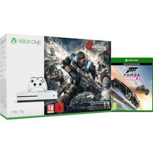 Xbox One S 1Tb With Gears Of War 4 & Forza Horizon 3 £269.99 (Zavvi)