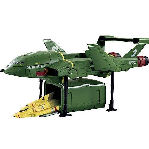 """Thunderbirds """"Supersize Thunderbird 2 with Thunderbird 4"""" Action Figure"""