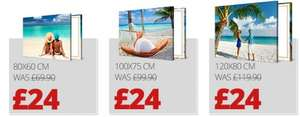Massive Canvas, Massive Saving. 120 x 80 cm photo canvas £24 was £199.90 @ Picanova (For Account Holders via Newsletter)