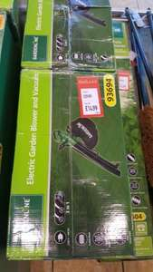 Electric Garden Blower and Vacuum In Store at ALDI
