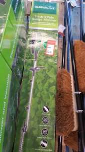 Electric Pole Hedge Trimmer In Store at ALDI