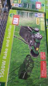 1500w rake and scarifier at ALDI