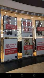 GAP Solihull - closing down sale