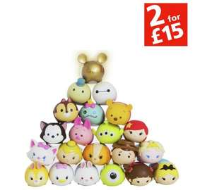Disney Tsum Tsum Squishy £4.99 for 8 pack at Argos (Free C&C)