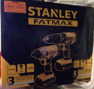 Stanley Fatmax Drill twin pack Homebase - £24.23 instore