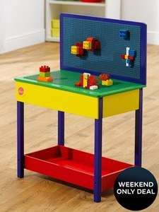 Plum Build It Wooden Table (Lego Compatible)  Now only £32.98 delivered at Very