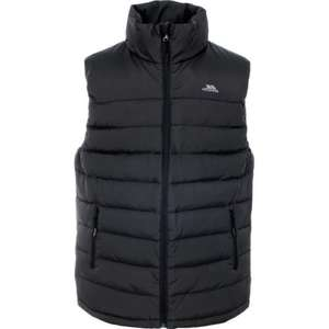 "Trespass ""Hollow"" feather & down gilet . Flint or Black (all sizes) £24.99 @ Trespass outlet EBay"