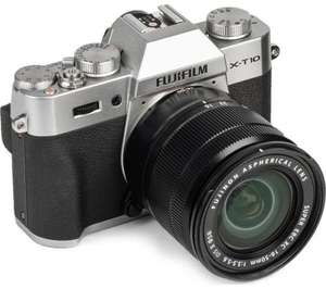 FUJIFILM X-T10 Camera with XC 16-50 mm f/3.5-5.6 OIS MKII Lens (£389 with double cashback) £549 @ Currys