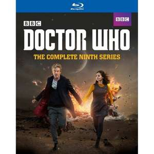 Doctor Who Series 9 Blu Ray - Amazon -£18.69 (Prime)