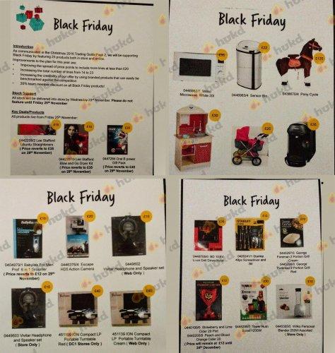 Wilko Black Friday Preview deals