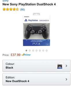 New Sony PlayStation DS4 £37.99 @ Amazon (PRIME)