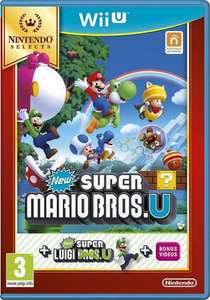 [Wii U] New Super Mario Bros. U Plus New Super Luigi U Select / Zelda: Wind Waker HD Select / Donkey Kong Country: Tropical Freeze Select - £14.00 prime / £15.99 non prime at Amazon
