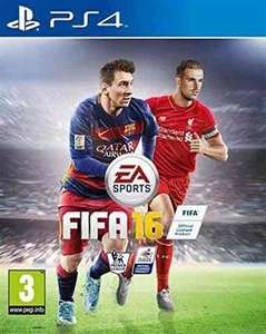 Used Fifa 16 (PS4) £2.50 instore  (+£2.50 p&p online) @ CEX