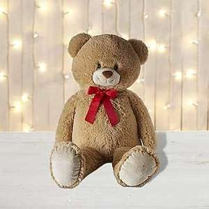 Large plush teddy bear ONLY £10 at Dunelm with free reserve & collect