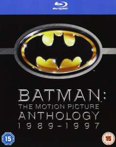 Batman - The Motion Picture Anthology 1989-1997 [Blu-ray] £7.99 (Prime) @ Amazon