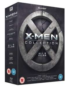 X-Men Collection [Blu-ray] - All 8 Films for £24.99 @ Amazon