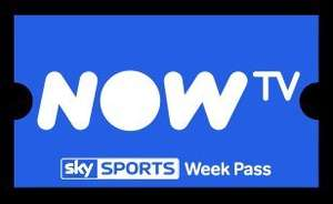 free now tv sports week pass from npower for new and existing customers