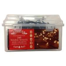 Christmas lights Half Price, Lights from £1.50 @ Tesco Instore/Online & at Tesco Direct