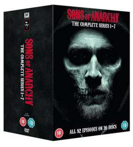 Sons Of Anarchy - Complete Seasons 1-7 DVD Boxset £22.10 @ Amazon