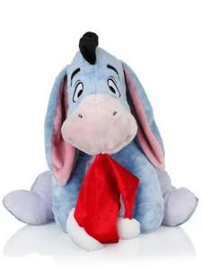 20 Inch Eeyore Christmas Plush £5 Instore at Clintons
