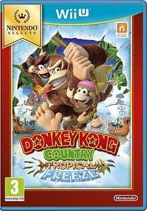 [Wii U] Donkey Kong Country: Tropical Freeze Select  / New Super Mario Bros. U Plus New Super Luigi U Select / Zelda: Wind Waker HD Select - £14.00 inc. Delivery at Tesco Direct