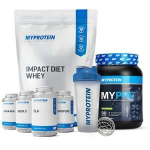 Whey Protein package deal £41.97 @ Myprotein