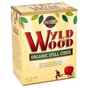 Westons organic vintage cider draught - 3litre box at Waitrose