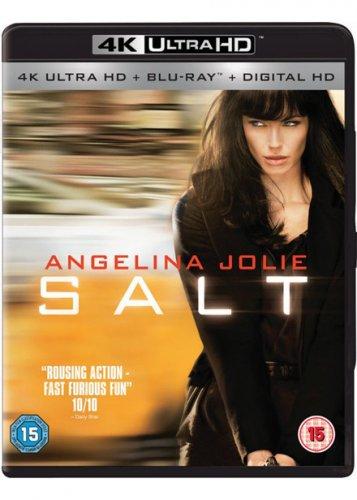 Salt (2 Disc 4K UHD & Blu-ray) 4K Bluray for £17.99 @ Base.com (requires 4K bluray player like xbox one s)