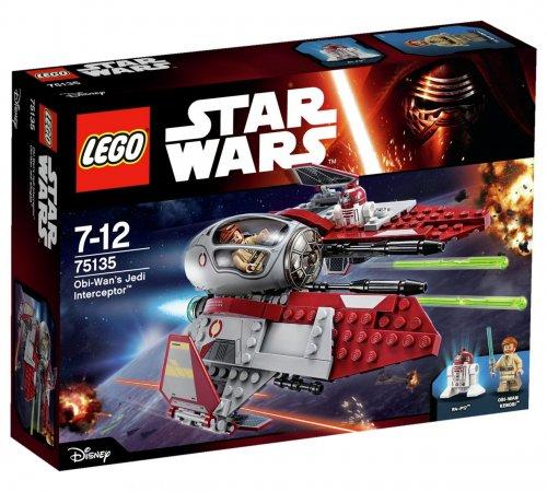 Lego Star Wars Obi-Wans Jedi intercepter 75135 was £19.99 now £9.99 Save 50% @ Argos