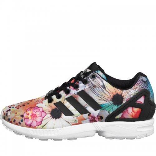 Adidas Originals Womens ZX Flux 'The Farm Company' Trainers Core Black/Core Black/White £29.99 @ MandM Direct
