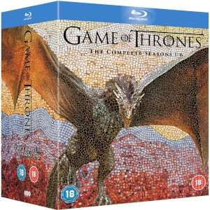 Game Of Thrones - Series 1-6 Blu-ray £62.99 with Code at Zavvi with FREE Delivery