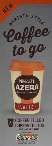 12 cups of Nescafe Azera to go Latte and Americano £5.98 via Amazon (Non-Prime delivery free £20+)