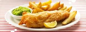 Fish & Chips (eat-in or takeaway) £3 @ Morrisons cafe Friday 25/11